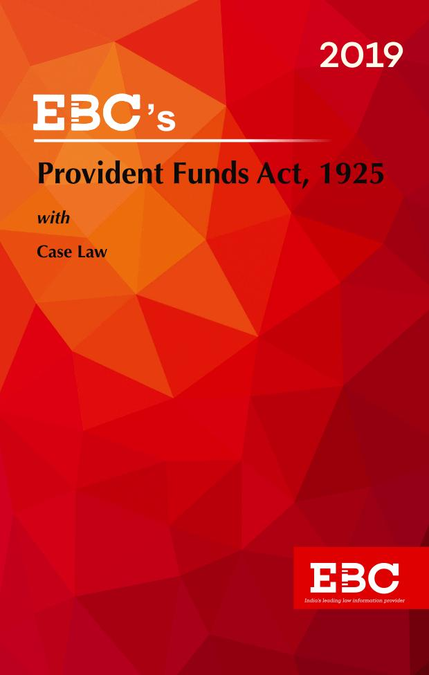Provident Funds Act, 1925