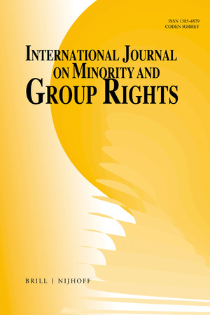 International Journal on Minority and Group Rights