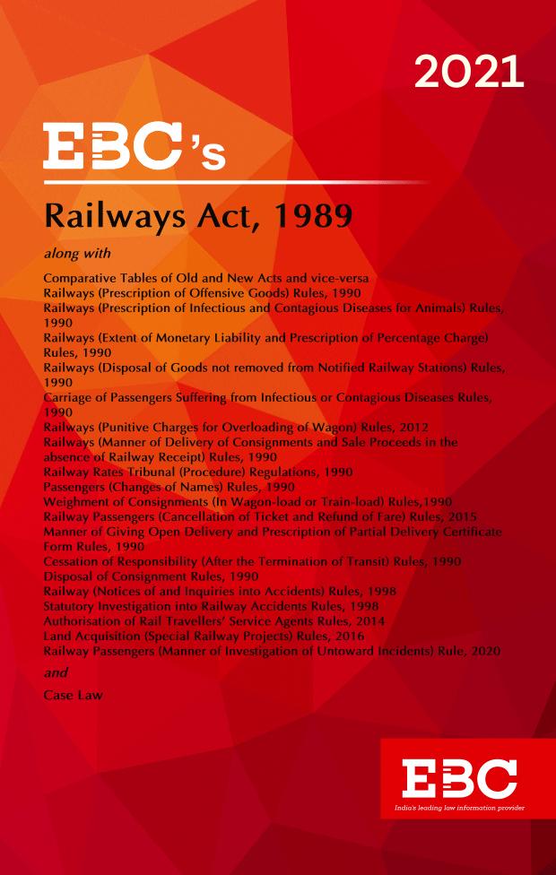 Railways Act, 1989Bare Act (Print/eBook)