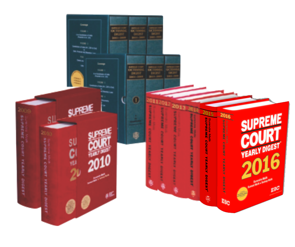 16 Years' Digest 2001-2016 (in 14 Volumes)