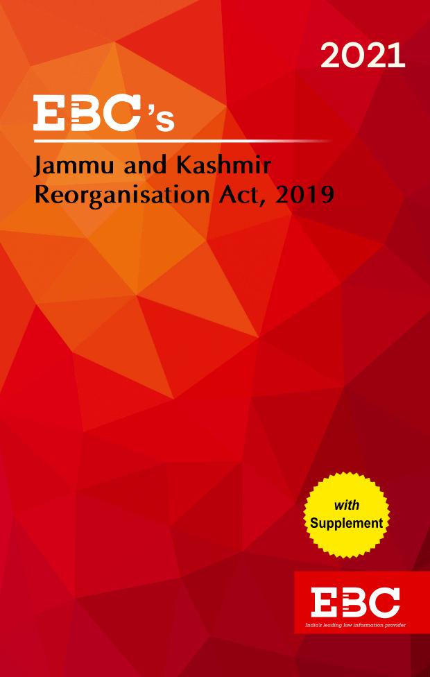 Jammu and Kashmir Reorganisation Act, 2019Bare Act (Print/eBook)