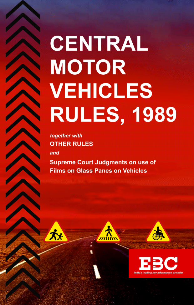 Motor Vehicles Rules 1989 Bare Acts (Print/eBook)