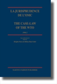 La jurisprudence de l'OMC/ The Case-Law of the WTO [2006 Edition] [Hardback]