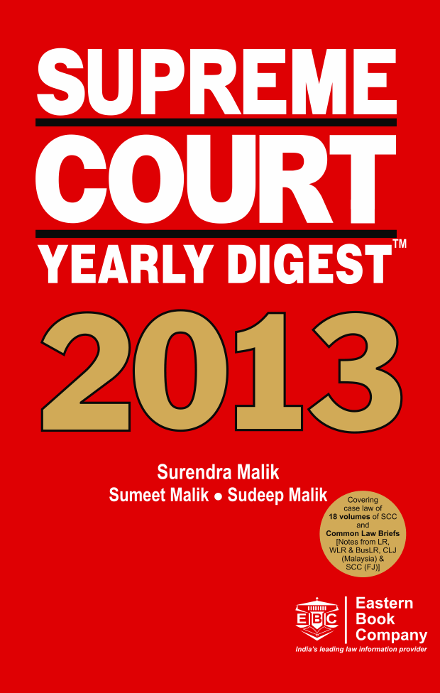 Supreme Court Yearly Digest, 2013