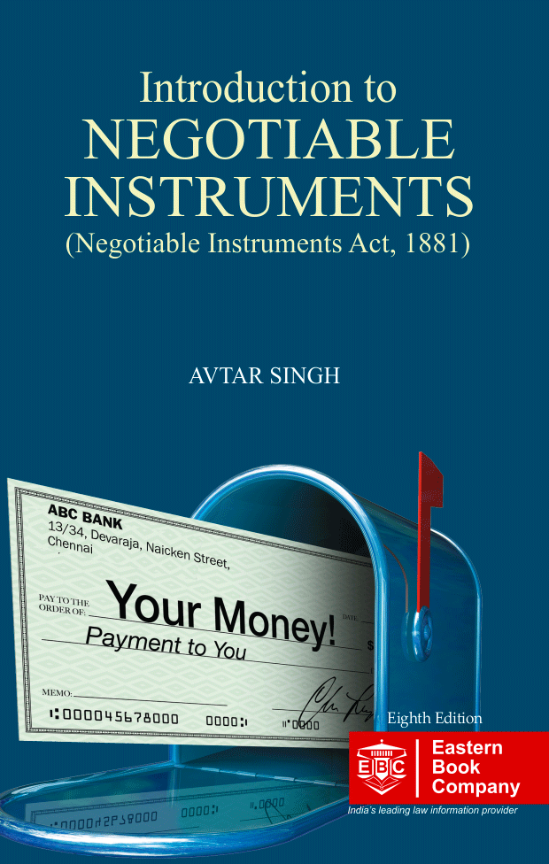 Introduction to  Law of Negotiable Instruments