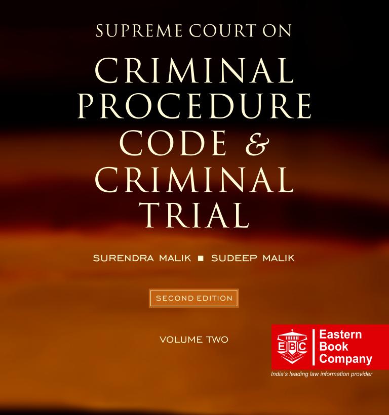 Supreme Court on Criminal Procedure Code and Criminal Trial Volume 2