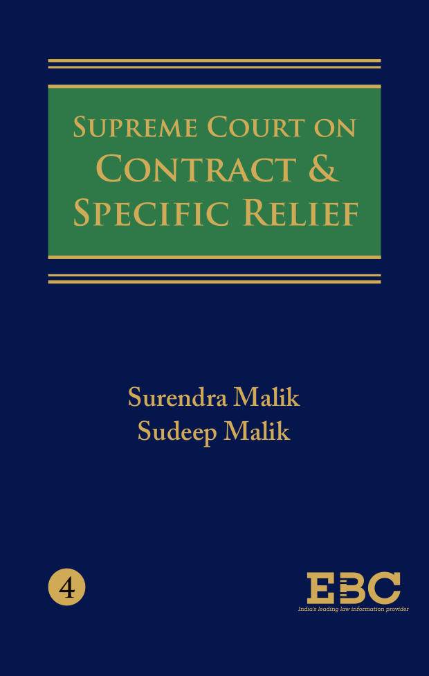 Supreme Court on Contract & Specific Relief (1950 to 2018) (in 4 Volumes)