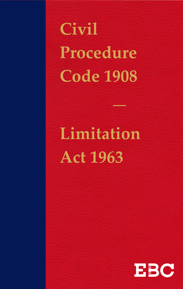 Civil Procedure Code, 1908 with Limitation Act, 1963 (Coat Pocket Edition) alongwith  Special Amendments by Commercial Courts Act, 2015 (Act 4 of 2016) and Commercial Courts Act, 2015Bare Act