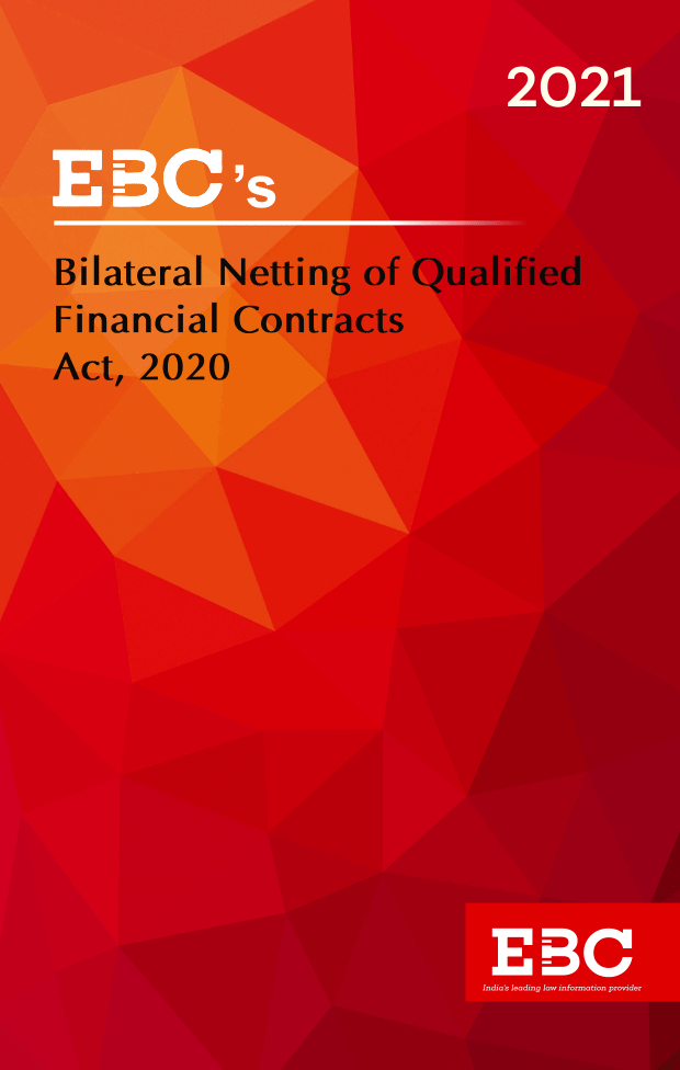 The Bilateral Netting of Qualified Financial Contracts Act, 2020  Amended up to Act 30 of 2020 and as of 29.9.2020