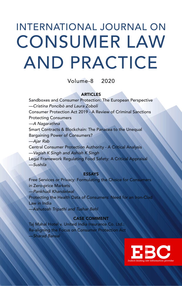 International Journal on Consumer Law and Practice Vol 8
