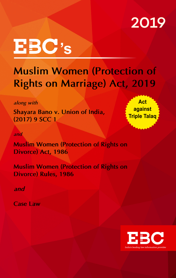 Muslim Women (Protection of Rights on Marriage) Act, 2019Bare Act  Law of Marriage and Divorce (Print/eBook)