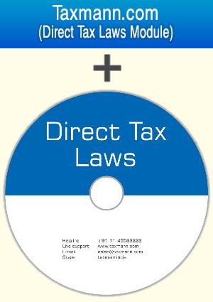 Direct Tax Laws on DVD plus Income-tax Web Module