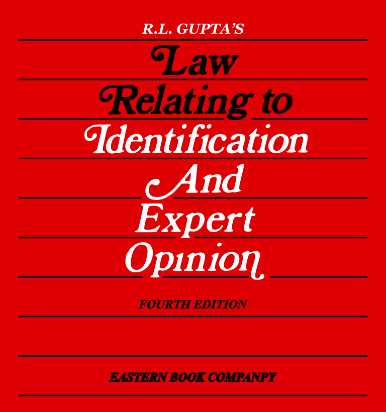 Law Relating to  Identification and Expert Opinion (Print On Demand)