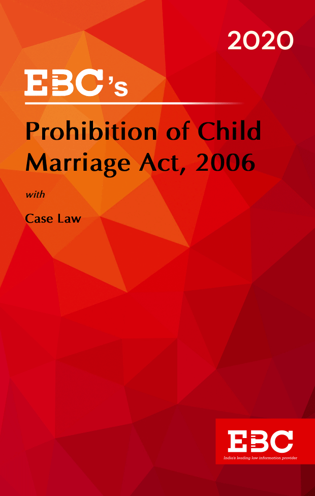 Prohibition of Child Marriage Act, 2006