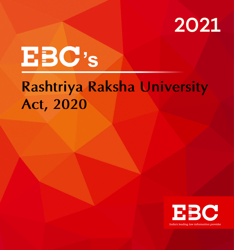 The Rashtriya Raksha University Act, 2020  Amended up to Act 31 of 2020 and as of 29.9.2020
