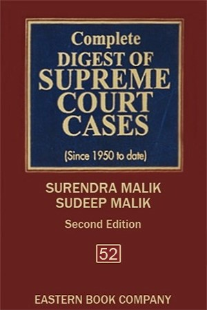 Complete Digest of Supreme Court Cases, Vol 52