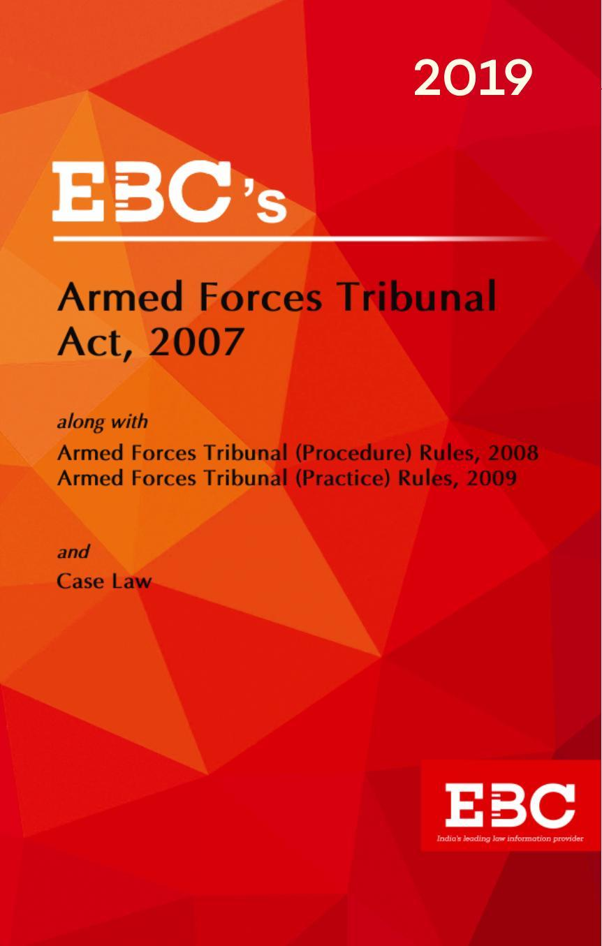 Armed Forces Tribunal Act, 2007