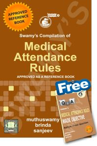 MEDICAL ATTENDANCE RULES - 2019