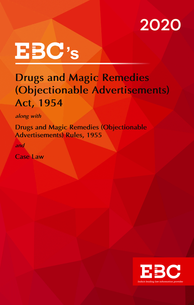 Drugs and Magic Remedies (Objectionable Advertisments) Act, 1954