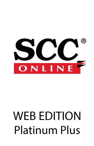 SCC Online Web Edition Platinum Plus Pack (From the publishers of Supreme Court Cases)