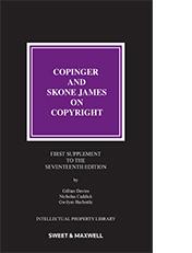 Copinger & Skone James on Copyright