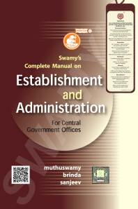 SWAMY'S MANUAL ON ESTABLISHMENT AND ADMINISTRATION - 2020