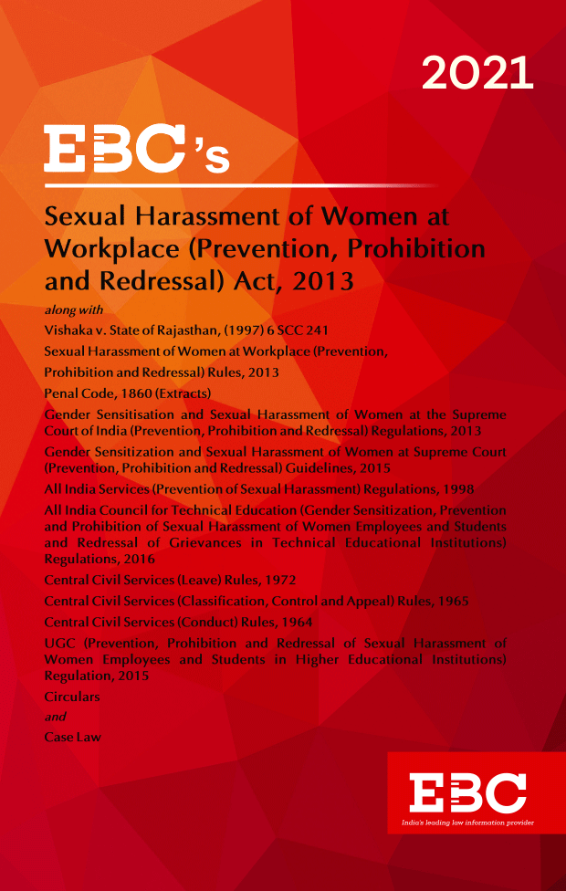 Sexual Harassment of Women at Workplace (Prevention Prohibition And Redressal) Act, 2013Bare Act (Print/eBook)