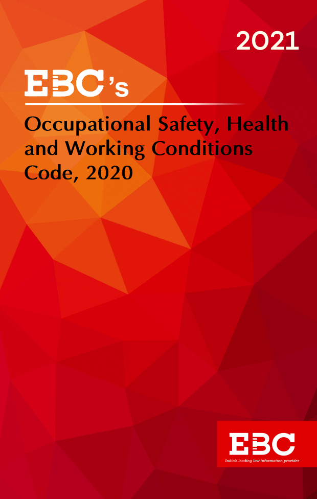 The Occupational Safety, Health   and Working Conditions   Code, 2020 Act 37 of 2020