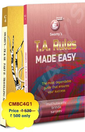 FRSR PART - II TA RULES & TA RULES MADE EASY - 2021