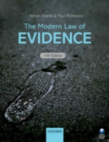 Modern Law of Evidence