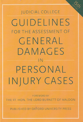 Judicial College Guidelines for the Assessment of General Damages in Personal Injury Cases