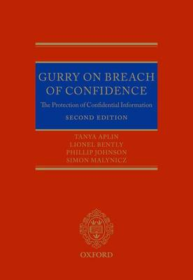 Gurry on Breach of Confidence