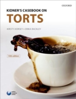 Kidner's Casebook on Torts