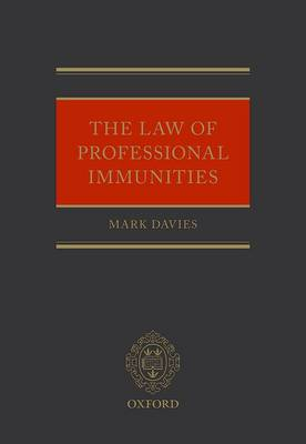 Law of Professional Immunities