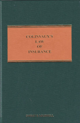 Colinvauxs Law of Insurance