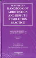 Bernstein's Handbook of Arbitration and Dispute Resolution Practice
