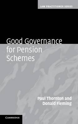 Good Governance for Pension Schemes