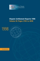 Dispute Settlement Reports 1998: Volume 9, Pages 3765-4038