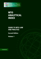 WTO Analytical Index 2 Volume Set