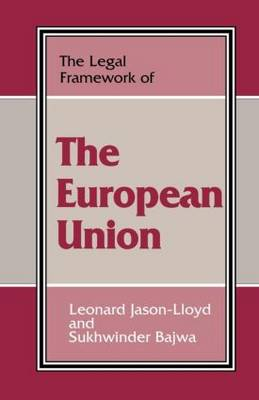 Legal Framework of the European Union