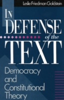 In Defence of the Text