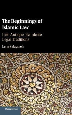 Beginnings of Islamic Law