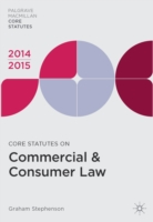 Core Statutes on Commercial & Consumer Law 2014-15