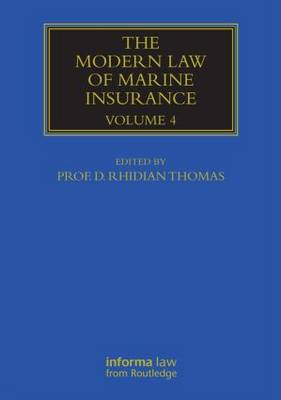 Modern Law of Marine Insurance