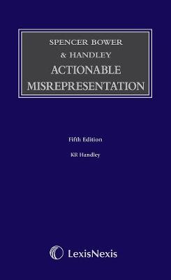 Spencer Bower & Handley: Actionable Misrepresentation