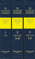All England Law Reports Consolidated Tables and Index 1936-2015
