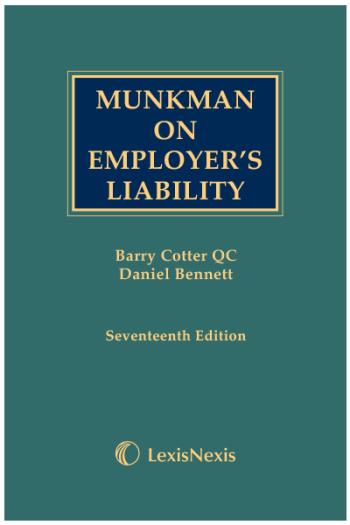 Munkman on Employers Liability
