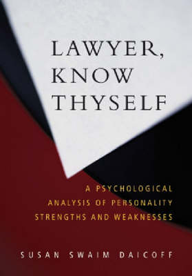Lawyer, Know Thyself