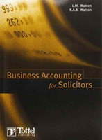 Business Accounting for Solicitors