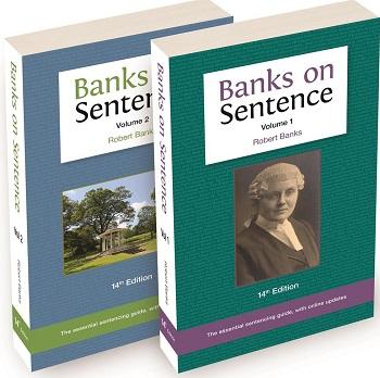 Two Volume Set: Banks on Sentence 14th ed